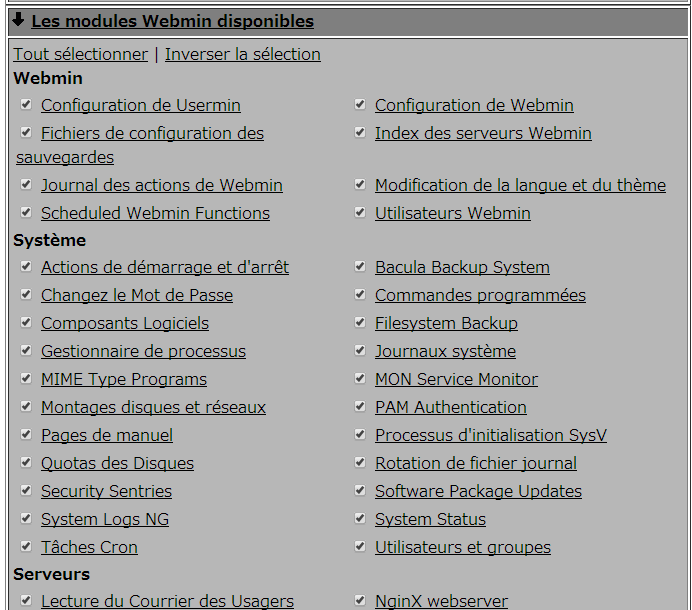 webmin_select_modules_fr